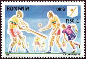 1997 Romania – Oina, predecessor to baseball