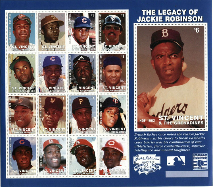1997 St. Vincent – The Legacy of Jackie Robinson