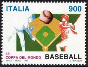 1998 Italy – 33rd World Baseball Championship