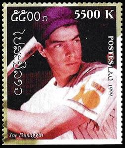1999 Laos – Great People of the 20th Century, Joe DiMaggio