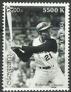 1999 Laos – Great People of the 20th Century, Roberto Clemente