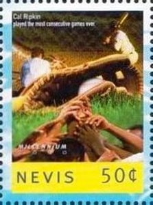 1999 Nevis – Cal Ripken Played for the Most Consecutive Games Ever