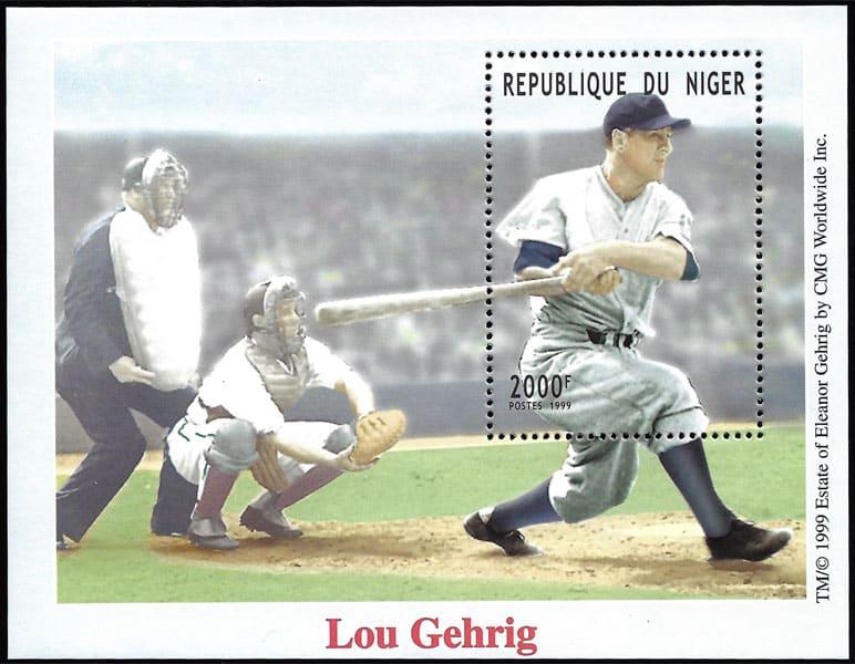 1999 Niger – Lou Gehrig 2000 F