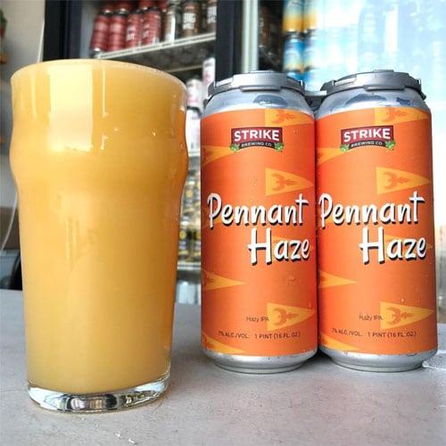 Pennant Haze IPA by Strike Brewing