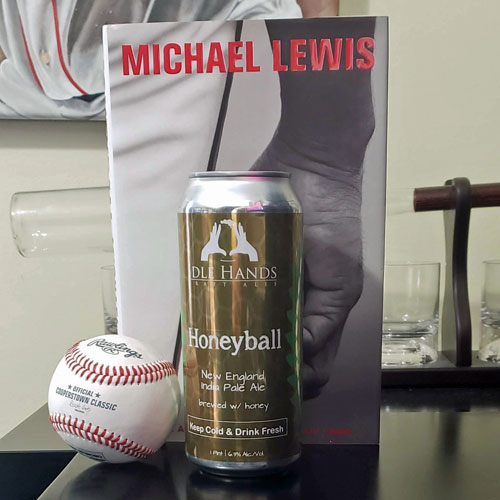Honeyball IPA and Moneyball by Michael Lewis
